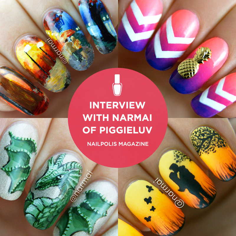 Interview with nail artist Narmai of PiggieLuv