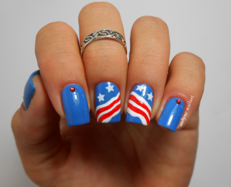 30+ Patriotic Nail Art Designs for 4th of July | Nailpolis Magazine