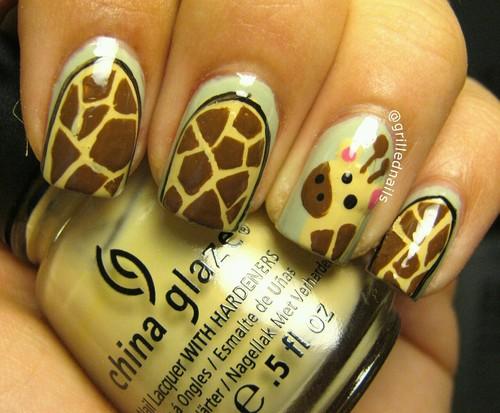 grilled nails giraffe