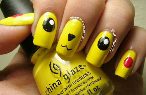 Male nail artist interviews hector aka grilled nails grilled nails pacman prinsesfo Image collections