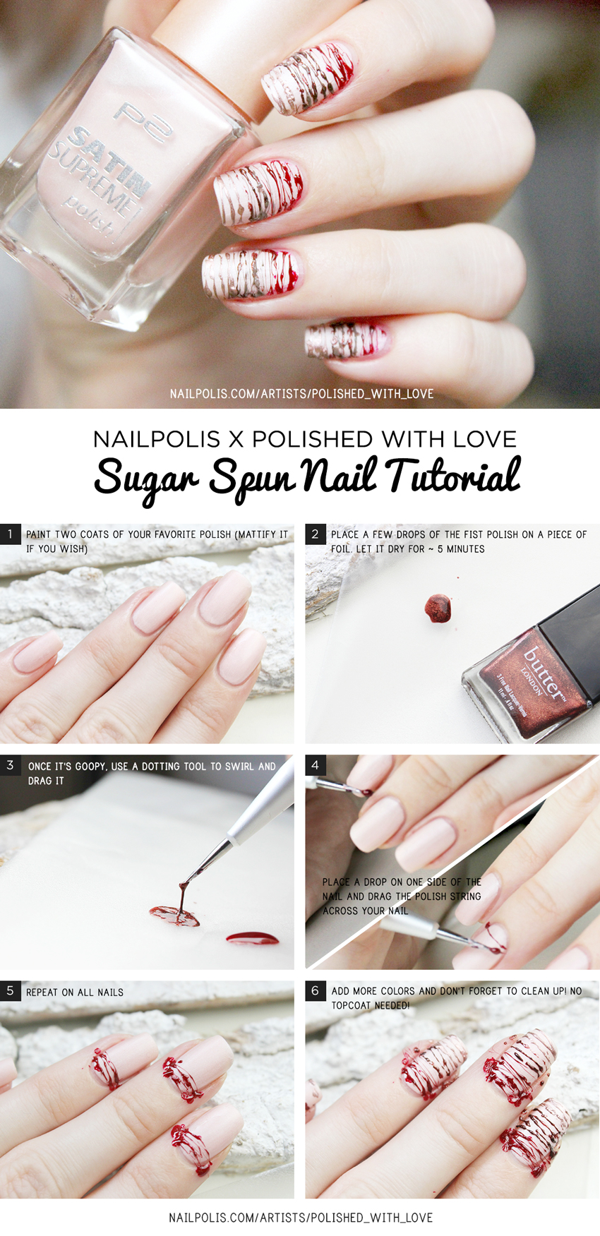 Sugar Spun Nail Art Tutorial | Nailpolis Magazine